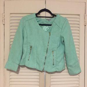 Charlotte Russe Jackets & Blazers - Tweed Moto Jacket