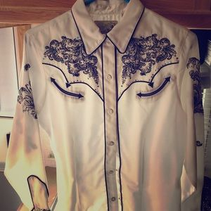 Roper Tops - Roper - Western/Rodeo bling shirt