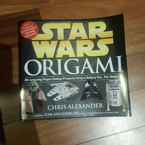 Hot Topic Other Star Wars Origami Book Brand New Poshmark