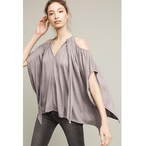 Anthropologie Tulay Open Shoulder Top