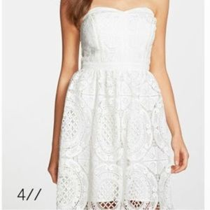 adelyn rae Dresses & Skirts - Coming Soon! Adelyn Rae Lace Fit & Flare Dress