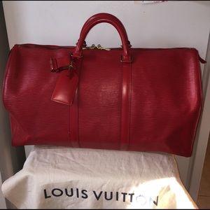 Louis Vuitton Handbags - Louis Vuitton Epi Keepall 50. Authentic ❤️👜
