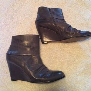 Corso Como Shoes - Ankle wedge boot