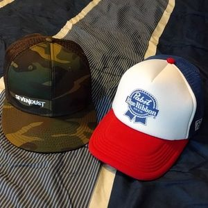 Other - EUC Camo and PBR Hats