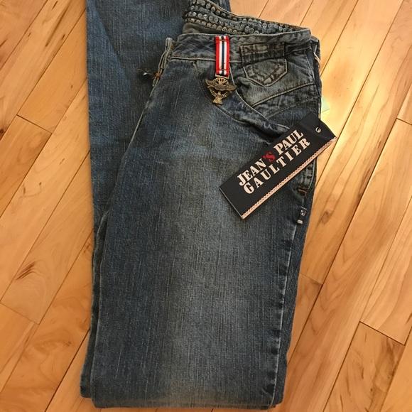 BWT Jean Paul Gaultier Jeans sz. 28 54c8913dc