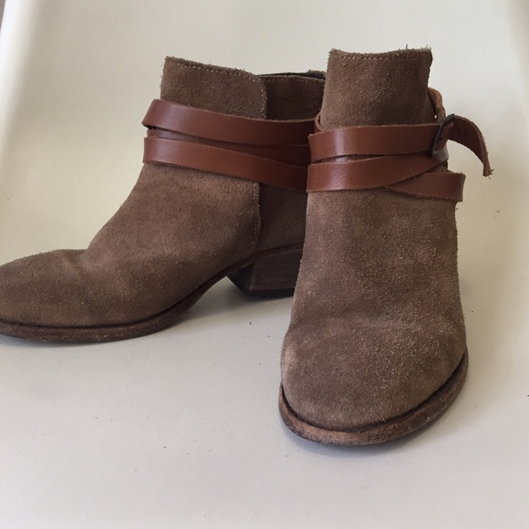 87% off Madewell Shoes - H by Hudson Horrigan 8 Madewell Suede ...
