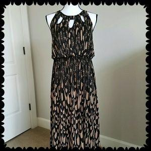 Soma Dresses & Skirts - NWT Soma Maxi *Mythology* Black/Latte SZ L