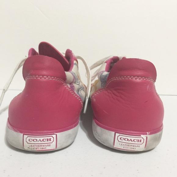 Coach Shoes - COACH BARRETT POPPY SNEAKERS