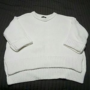 Sweaters - Zara knit white sweater