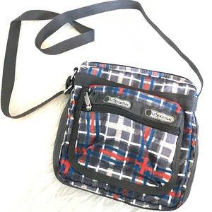 LeSportsac Handbags - Prep school plaid lesportsac crossbody purse Ellie