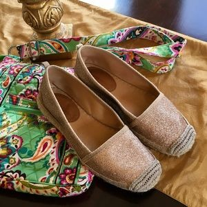 Corso Como Shoes - Corso Como glitter espadrilles