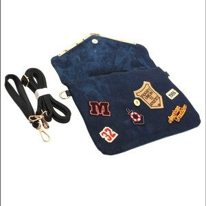 Handbags - Denim Patch Clutch