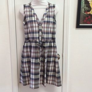 Gap Plaid Dress with Pockets, Size 0