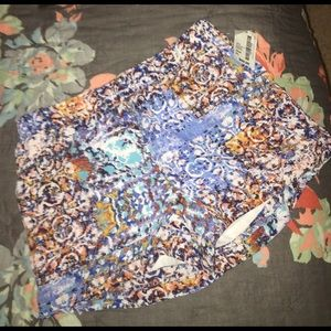 NWT  south moon under flowy patterned shorts