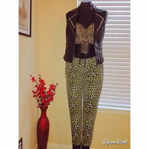 Pants - Walk on the wild side draw string  joggers!✨