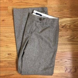 J Crew wide-leg stretch wool pant!