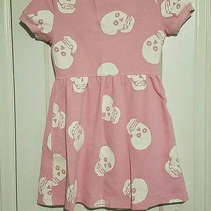c990639d3 Betsey Johnson Dresses - Betsey Johnson Pink Skull thermal baby doll dress