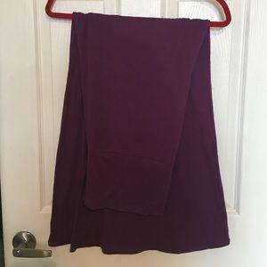 Purple Maxi Skirt size XL