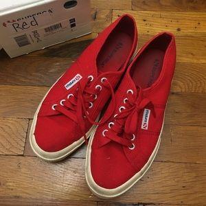 Superga Shoes - Red superga