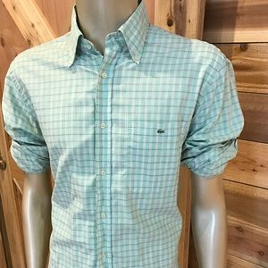 Lacoste Other - Host Pick! 👔Men's Lacoste Lime Green Prep! 42 (L)
