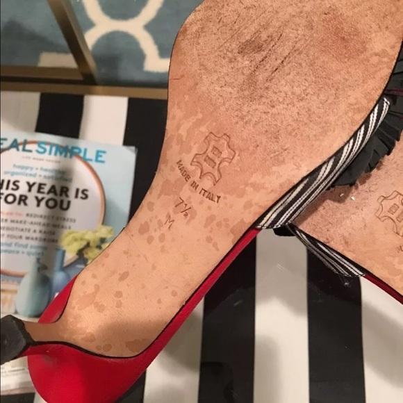 Isaac Mizrahi Shoes - Isaac made in Italy kitten heels 7.5