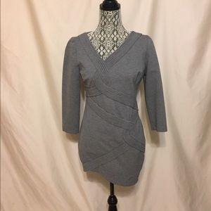 Robert Rodriguez Dresses & Skirts - Robert Rodriguez long sleeve gray  mini dress