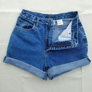 Bill Blass Vintage High Waisted Jean Shorts