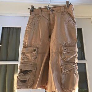 Old Navy Other - Old Navy boys cut-off cargo shorts khaki