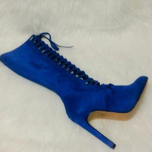 Chelsea & Zoe Shoes - 362 Pauline Royal Boots