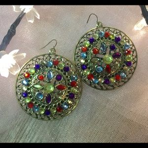 New colorful earrings