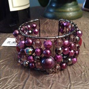 50 Shades of Purple Bracelet