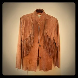 Scully Jackets & Blazers - Sculls Bourbon Boar Knotted Fringe jacket