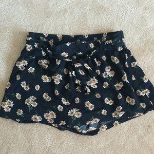 Pants - Floral Skort