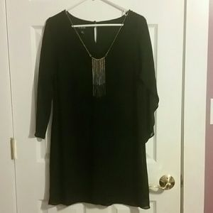 A. Byer Dresses & Skirts - Dress with built on necklace