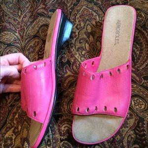 AEROSOLES Shoes - Size 10 Fuchsia Sandals. Must Bundle