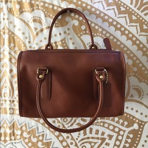 ***Sale***Authentic Brown Leather Coach Bag