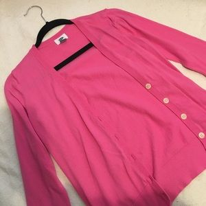 Pink Cardigan - Old Navy