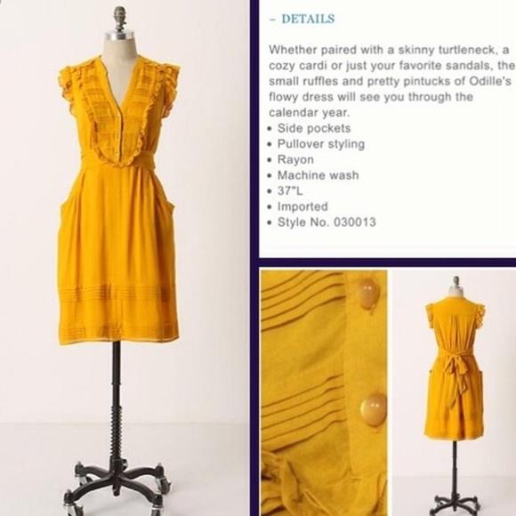 f5caf8138717f Anthropologie Dresses & Skirts - Odille