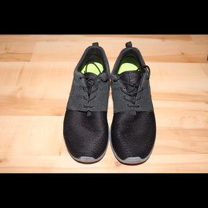 Nike Shoes - Nike Roshe Run Winter Black Suede Kim kardashian