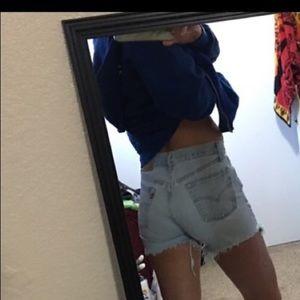 Levi's Denim - Levi jean shorts high waisted •various sizes•