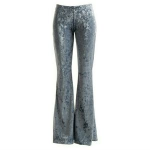 Fashionomics Pants - 🆕JUST IN! BOHO CHARCOAL COLOR VELVET BELL BOTTOMS