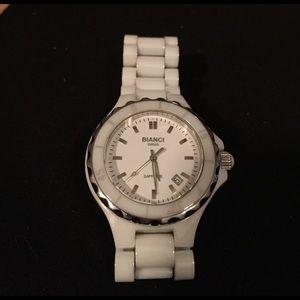 Roberto Bianci Accessories - White Bianci Ceramic Watch