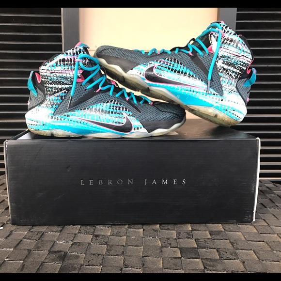 best cheap adb10 fb73d Air Jordan Other - LeBron 12 23 Chromosome(Cotton Candy)