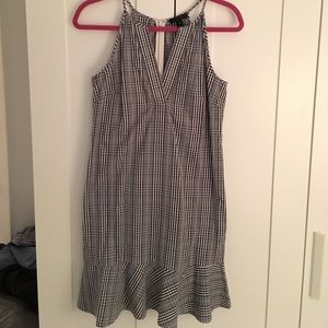 J.Crew Check Pattern Dress