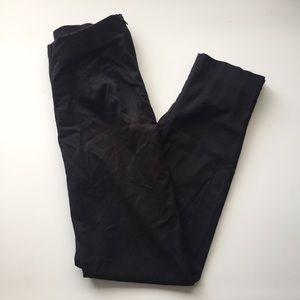 Briggs Pants - High Waist Black Slacks