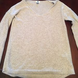 Old Navy Tan Oversized Sweater