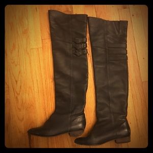 Joie Shoes - Joie Coachella Over the Knee Black Boots