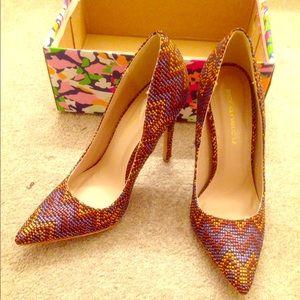 "Shoe Republic LA Shoes - Brand new, with box 4.5"" heels"