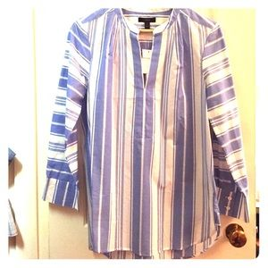 J. Crew Striped Tunic NWT