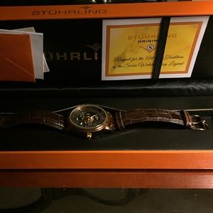 Stuhrling Original Other - Stuhrling Original Legacy skeleton watch